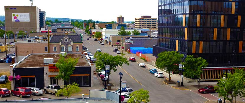 Located in the heart of Downtown Prince George, 4th Avenue features specialty shops and restaurants