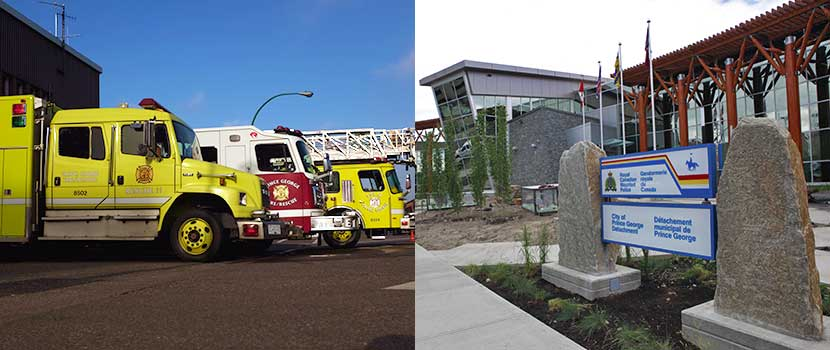 Fire Hall #1 is located in Downtown Prince George