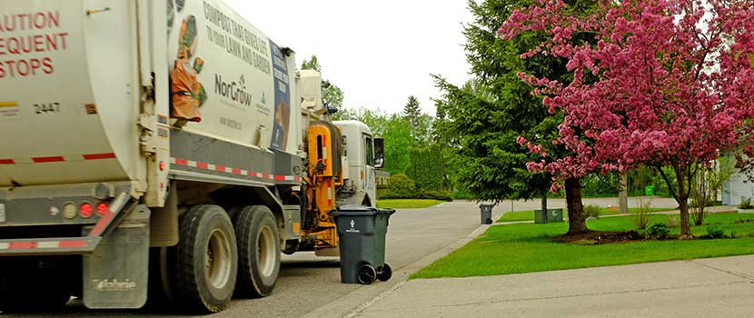 Garbage collection recycling City of Prince George