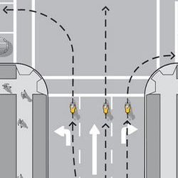 cycling proper lane positioning