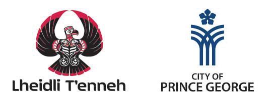 Lheidli T'enneh and City of Prince George logos