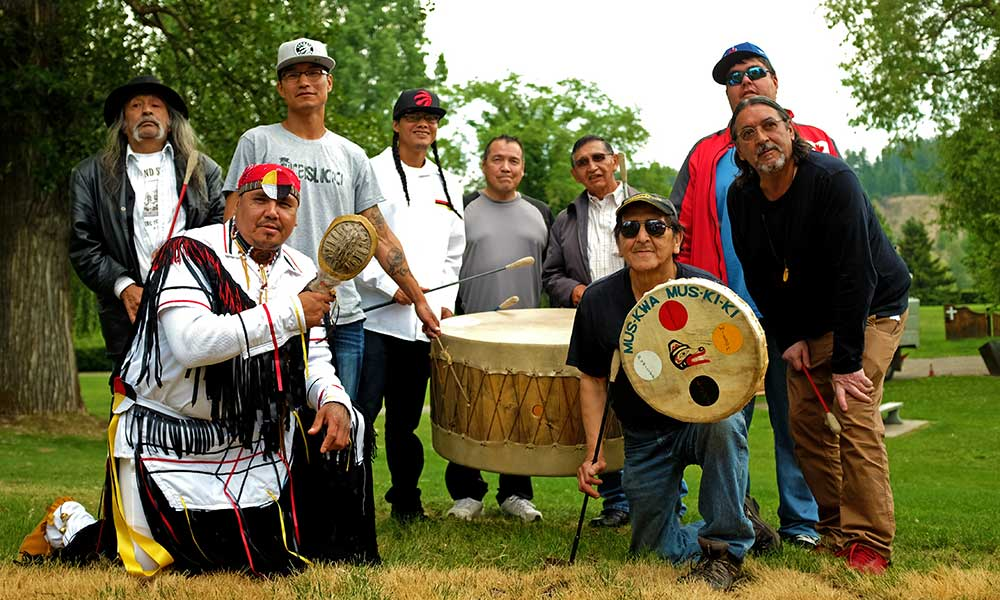 The Lheidli T'enneh Men's Drum Group