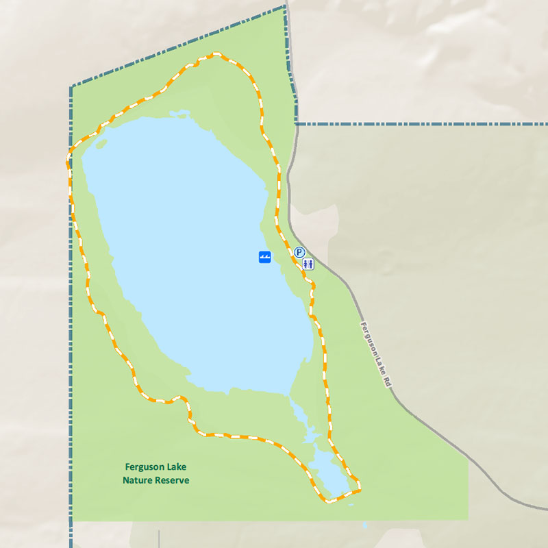 Ferguson Lake Nature Reserve map