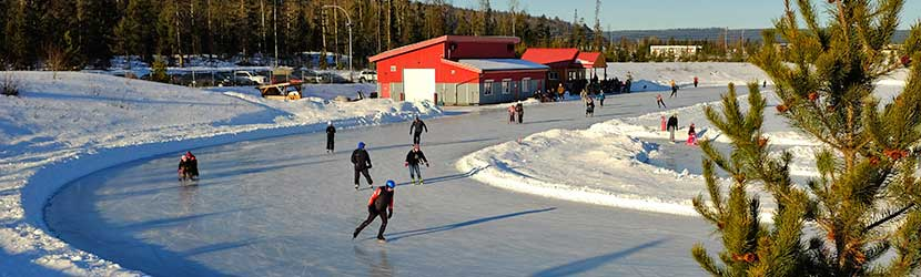 The Prince George Outdoor Ice Oval